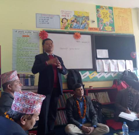 विद्यालय साक्षरता कार्यक्रमको प्रभावकारिताका वारेमा अध्यायन अवलोकन