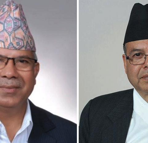 सामुहिक राजिनामाका लागी छलफलमा जुट्दै खनाल–नेपाल समुह