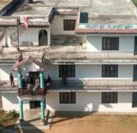 नेपाली काँग्रेस स्याङ्जाले पार्टी कार्यालय कोभीड आईसोलेशन निर्माण गर्न दिने